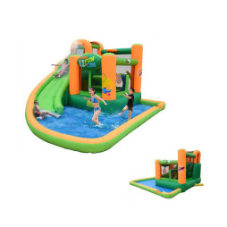 Inflatable Bounce House and Water Slide, Kidwise Endless Fun