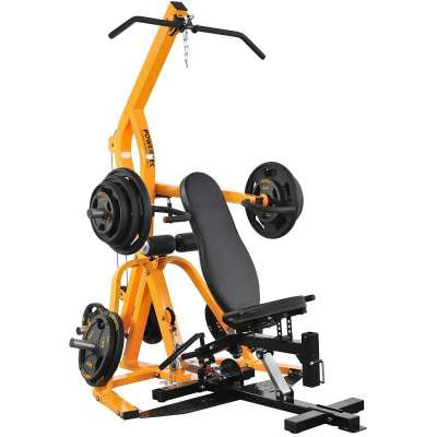 Home Gym, Powertec Workbench Levergym Yellow