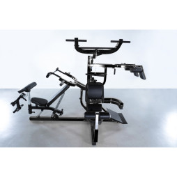 Home Gym, Powertec Workbench Multisystem - Black