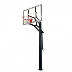 in-ground basketball hoop-60-inch glass goalrilla gs ii