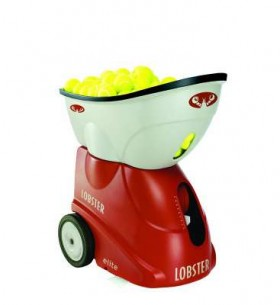 Tennis Ball Machine, Elite Grand V Lobster Sports