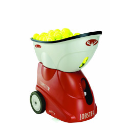 Portable Tennis Ball Machine, Elite Grand V Lobster Sports