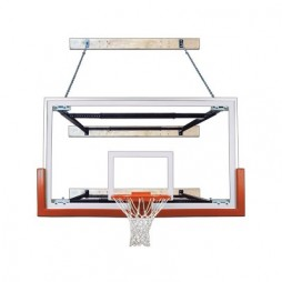 wall mounted basketball hoop 72 inch first team supermount68 victory