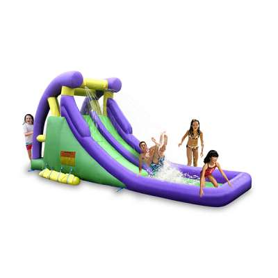 Inflatable Water Park, Kidwise Double Water Slide