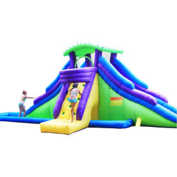 Inflatable Water Slide, Kidwise Dueling Back to Back