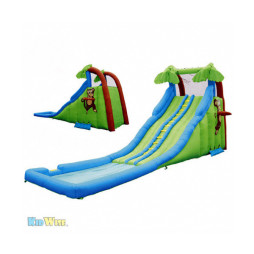 Inflatable Water Slide, Kidwise Tropical Wave