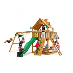 gorilla playsets chateau ii swing set ap