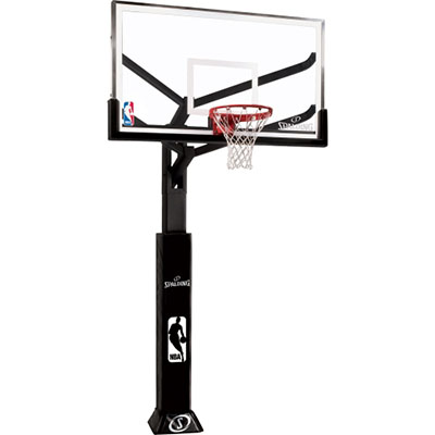 Spalding 86604AGP 60″ Glass In-Ground Basketball System
