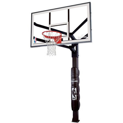 Spalding 86604HGP 60″ Glass In-Ground Basketball System