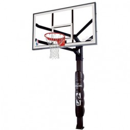Spalding 86724HGP 72″ Glass In-Ground Basketball System