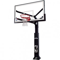 Spalding 88724AGP 72″ Glass In-Ground Basketball System