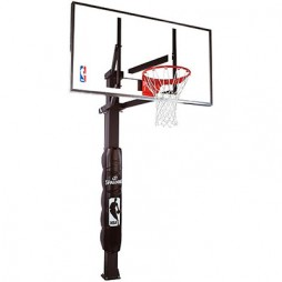 Spalding 88830G 60″ Glass In-Ground Basketball System