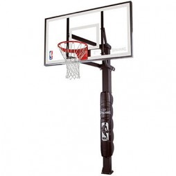 Spalding 88880G 72″ Glass In-Ground Basketball System